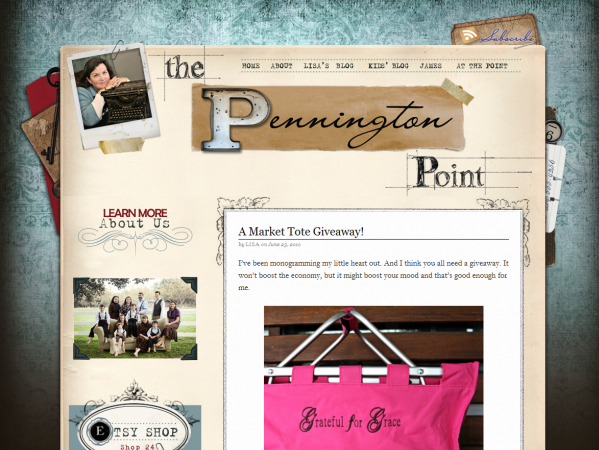 The Pennington Point Website and Multi Blog