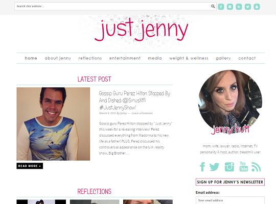 Jennifer Hutt Blog Redesign