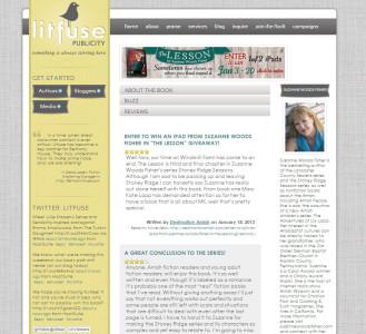 Litfuse Publicity Group Website designed by SA Design