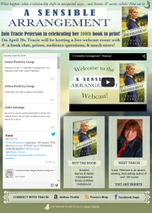 Tracie Peterson Live Webcast Event www.simplyamsuingdesigns.com