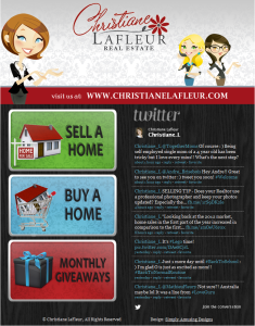 Christine LaFleur Facebook Welcome Page