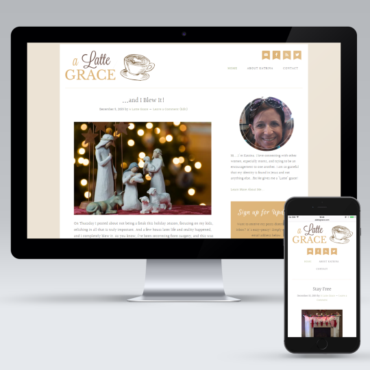 A Latte Grace WordPress Blog