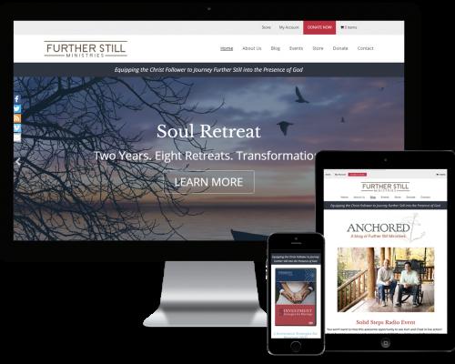 Further Still Ministries WordPress Design